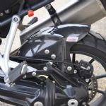 "Tiger Explorer 1200 ""Road"" Rear Hugger CARBON Fiber. Skidmarx: Upto 2015"